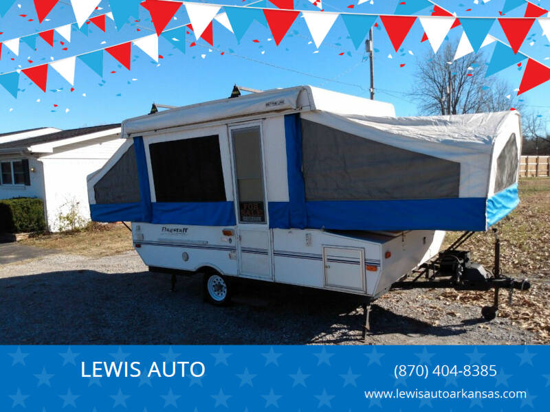 2002 Forest River Flagstaff for sale at LEWIS AUTO in Mountain Home AR