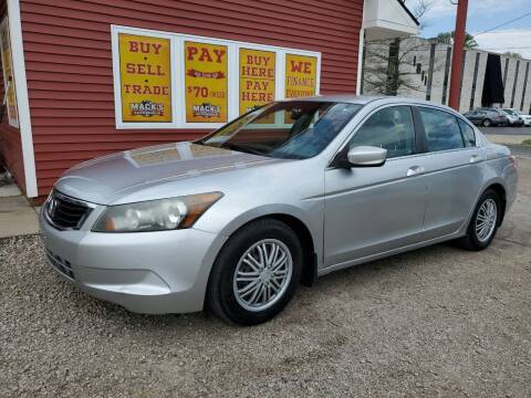 2009 Honda Accord for sale at Mack's Autoworld in Toledo OH