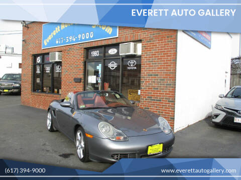 2002 Porsche Boxster for sale at Everett Auto Gallery in Everett MA