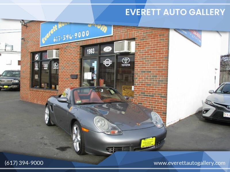 2002 Porsche Boxster for sale at Everett Auto Gallery in Everett MA
