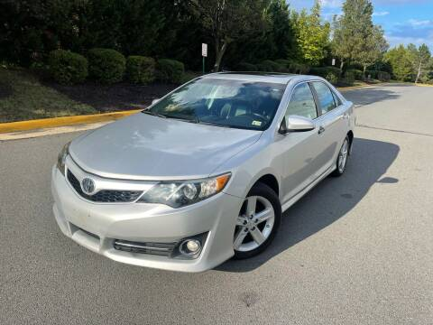 2012 Toyota Camry for sale at Aren Auto Group in Sterling VA