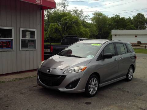 2012 Mazda MAZDA5 for sale at Midwest Auto & Truck 2 LLC in Mansfield OH