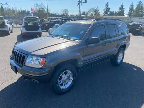 2000 Jeep Grand Cherokee for sale at Vista Auto Sales in Lakewood WA