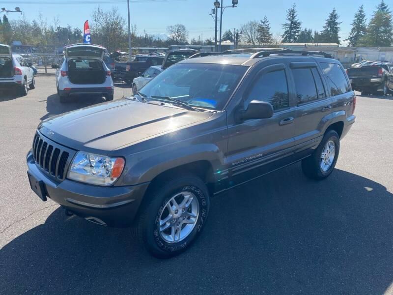 2000 Jeep Grand Cherokee for sale at Vista Auto Sales in Lakewood WA
