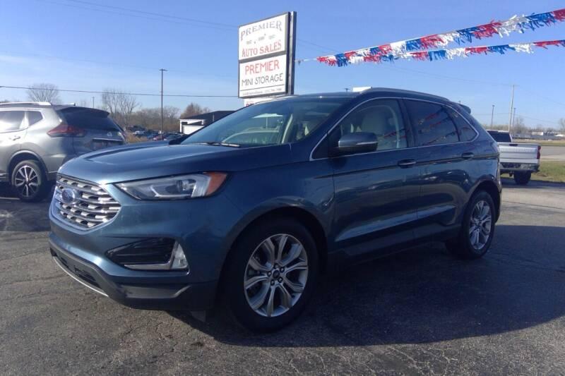 2019 Ford Edge for sale at Premier Auto Sales Inc. in Big Rapids MI