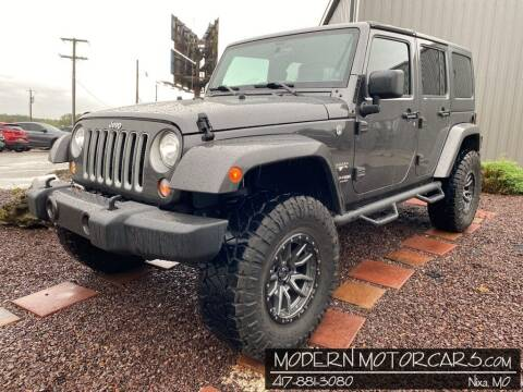 2018 Jeep Wrangler JK Unlimited for sale at Modern Motorcars in Nixa MO