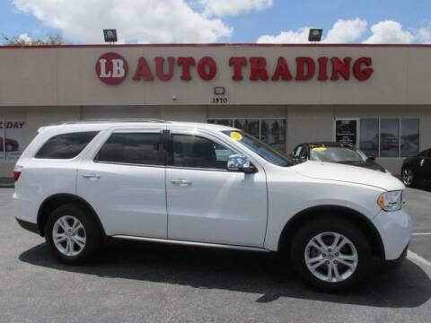 2013 Dodge Durango for sale at LB Auto Trading in Orlando FL