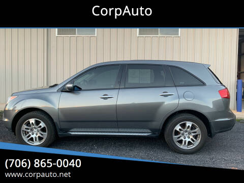 2008 Acura MDX for sale at CorpAuto in Cleveland GA