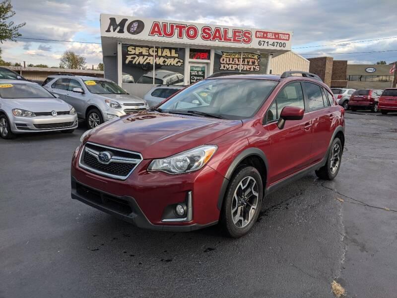 2016 Subaru Crosstrek for sale at Mo Auto Sales in Fairfield OH