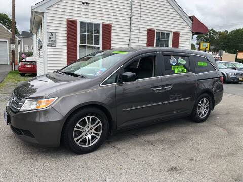 2011 Honda Odyssey for sale at Crown Auto Sales in Abington MA