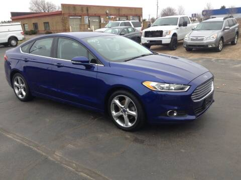 2015 Ford Fusion for sale at Bruns & Sons Auto in Plover WI