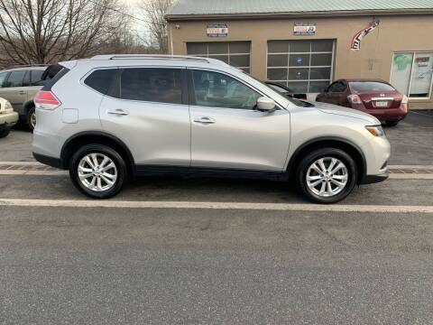 2015 Nissan Rogue for sale at GET N GO USED AUTO & REPAIR LLC in Martinsburg WV