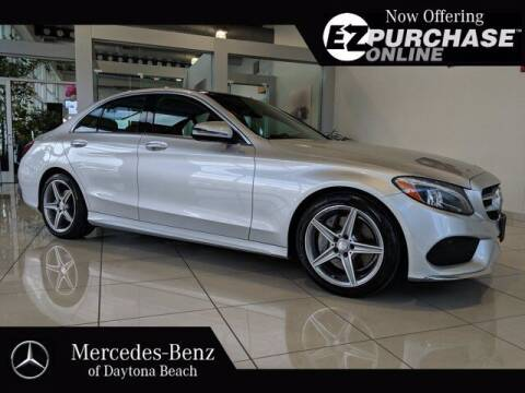 2016 Mercedes-Benz C-Class for sale at Mercedes-Benz of Daytona Beach in Daytona Beach FL