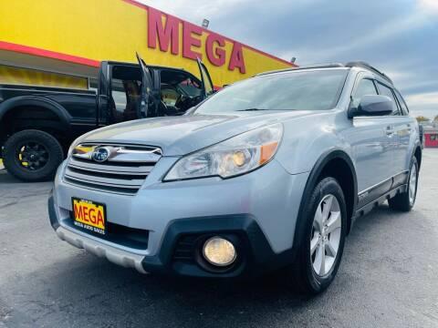 2013 Subaru Outback for sale at Mega Auto Sales in Wenatchee WA