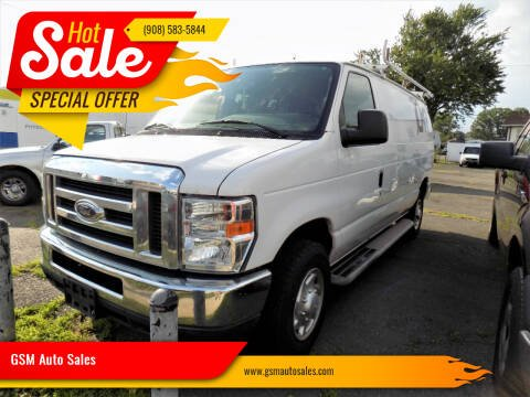 2012 Ford E-Series Cargo for sale at GSM Auto Sales in Linden NJ