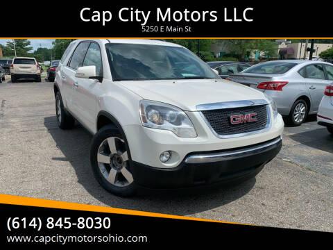 2012 GMC Acadia for sale at Cap City Motors LLC in Columbus OH