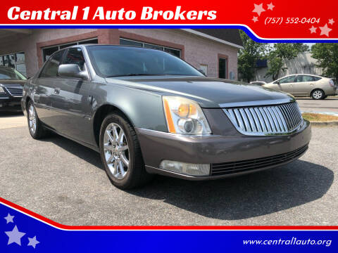 2006 Cadillac DTS for sale at Central 1 Auto Brokers in Virginia Beach VA
