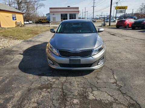 2014 Kia Optima for sale at Pro Motors in Fairfield OH