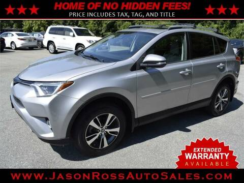2017 Toyota RAV4 for sale at Jason Ross Auto Sales in Burlington NC