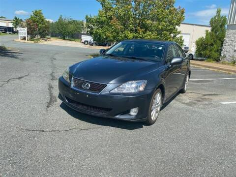 2007 Lexus IS 250 for sale at CarXpress in Fredericksburg VA