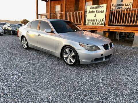 2006 BMW 5 Series for sale at Vermilion Auto Sales & Finance in Erath LA