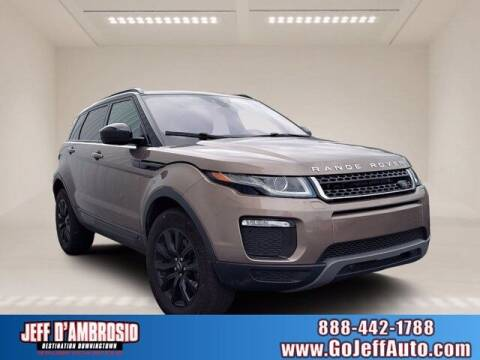 2019 Land Rover Range Rover Evoque for sale at Jeff D'Ambrosio Auto Group in Downingtown PA