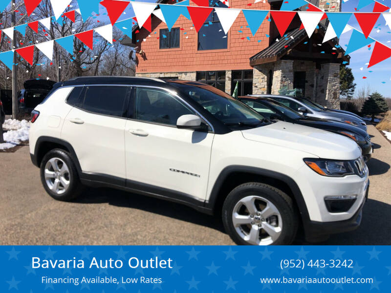 2018 Jeep Compass for sale at Bavaria Auto Outlet in Victoria MN