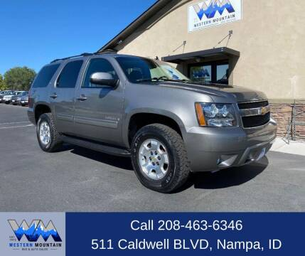 2009 Chevrolet Tahoe for sale at Western Mountain Bus & Auto Sales in Nampa ID