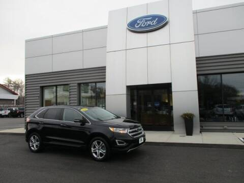 2016 Ford Edge for sale at MC FARLAND FORD in Exeter NH