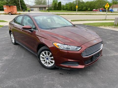 2016 Ford Fusion for sale at Wyss Auto in Oak Creek WI