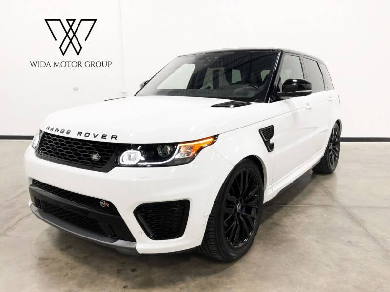 2017 Land Rover Range Rover Sport for sale at Wida Motor Group in Bolingbrook IL