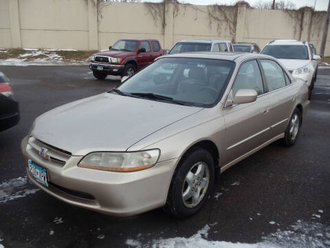 2000 Honda Accord for sale at Metro Motor Sales in Minneapolis MN