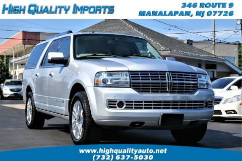 2012 Lincoln Navigator L for sale at High Quality Imports in Manalapan NJ