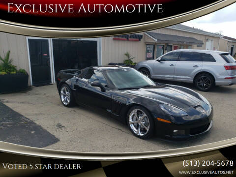 2010 Chevrolet Corvette for sale at Exclusive Automotive in West Chester OH
