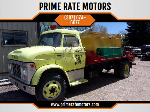 1967 Ford F-600 for sale at PRIME RATE MOTORS in Sheridan WY