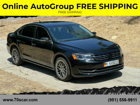 2015 Volkswagen Passat for sale at Online AutoGroup FREE SHIPPING in Riverside CA