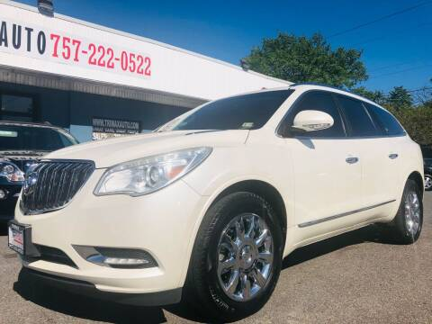 2013 Buick Enclave for sale at Trimax Auto Group in Norfolk VA
