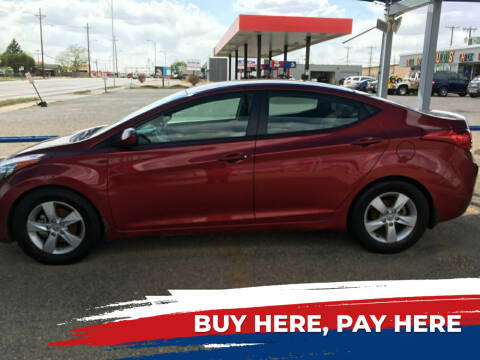 2013 Hyundai Elantra for sale at Chuck Spaugh Auto Sales in Lubbock TX