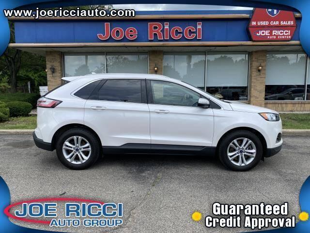 2019 Ford Edge for sale at JOE RICCI AUTOMOTIVE in Clinton Township MI