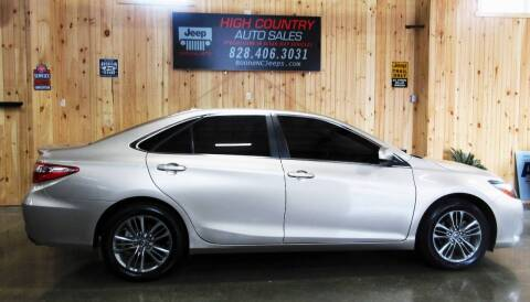 2017 Toyota Camry for sale at Boone NC Jeeps-High Country Auto Sales in Boone NC