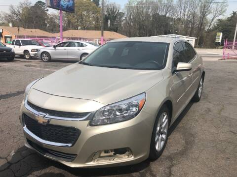 2014 Chevrolet Malibu for sale at Fast and Friendly Auto Sales LLC in Decatur GA
