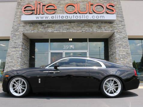 2016 Rolls-Royce Wraith for sale at Elite Autos LLC in Jonesboro AR