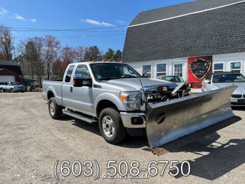 2011 Ford F-250 Super Duty for sale at J & E AUTOMALL in Pelham NH