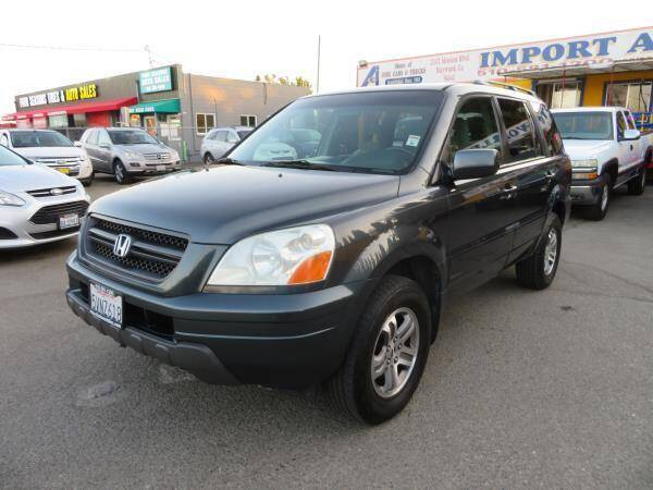 2003 Honda Pilot for sale at Import Auto World in Hayward CA