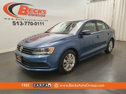 2015 Volkswagen Jetta for sale at Becks Auto Group in Mason OH