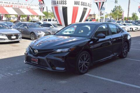 2021 Toyota Camry for sale at Choice Motors in Merced CA