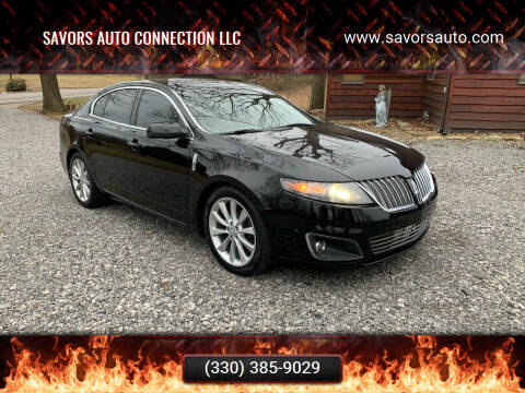 2011 Lincoln MKS for sale at SAVORS AUTO CONNECTION LLC in East Liverpool OH