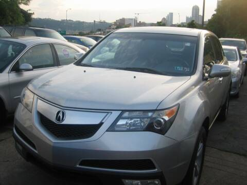 2011 Acura MDX for sale at B. Fields Motors, INC in Pittsburgh PA