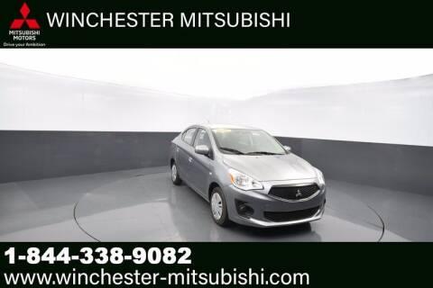 2020 Mitsubishi Mirage G4 for sale at Winchester Mitsubishi in Winchester VA