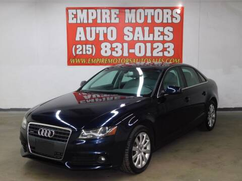 2011 Audi A4 for sale at EMPIRE MOTORS AUTO SALES in Philadelphia PA